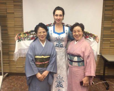 «Матери России» Приморья  обменялись опытом с женщинами Японии