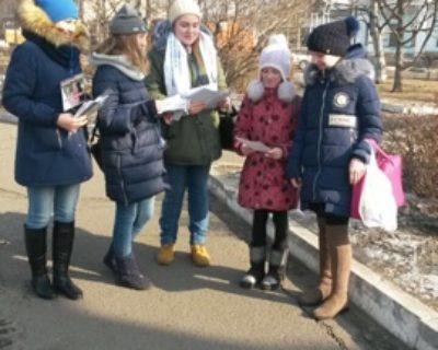 Акция «Женщины против наркотиков» прошла в Уссурийске